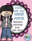Words Their Way Sentence Activities
