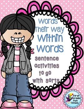 Words Their Way Sentence Activities