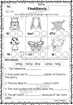 Word Study Worksheets - Alphabetic Spellers (No Prep)