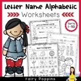 Word Study Worksheets - Alphabetic Spellers (No Prep)