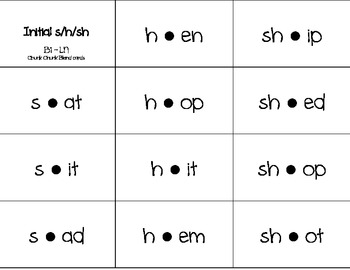 Word Journeys Word Study activity {Chunk Chunk Blend Cards} Letter Name stage B