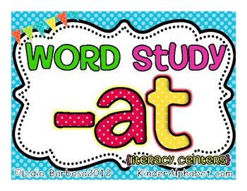Word Study -at
