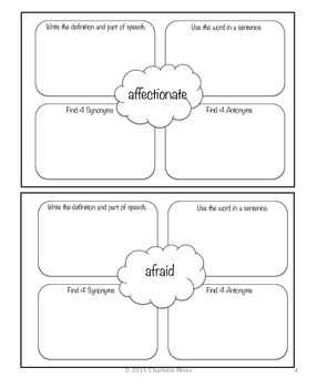 Word Study for Fourth Grade