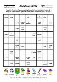 Word Sudoku to Learn English: Christmas Gifts