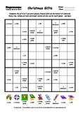 Word Sudoku to Learn English: Christmas Gifts