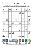 Word Sudoku to Learn English: In Town