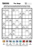 Word Sudoku to Learn English: The Shops