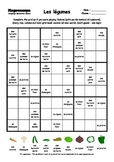 Word Sudoku to Learn French: Les légumes