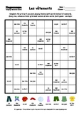 Word Sudoku to Learn French: Les vêtements