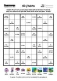 Word Sudoku to Learn French: Où j'habite