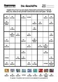 Word Sudoku to Learn German: Die Geschäfte