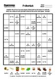 Word Sudoku to Learn German: Früchtück