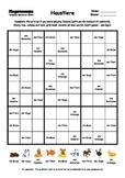 Word Sudoku to Learn German: Haustiere
