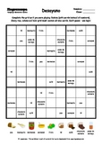 Word Sudoku to Learn Spanish: Desayuno