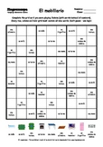 Word Sudoku to Learn Spanish: El mobiliario