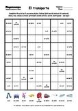 Word Sudoku to Learn Spanish: El transporte