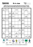Word Sudoku to Learn Spanish: En la clase
