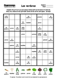 Word Sudoku to Learn Spanish: Las verduras