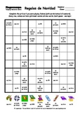 Word Sudoku to Learn Spanish: Regalos de Navidad