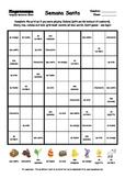 Word Sudoku to Learn Spanish: Semana Santa