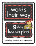 Words Their Way Launch Plan and Homework Activities