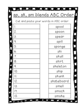 Word Their Way Letter Name Alphabetic Sorts 18-26 Bundle