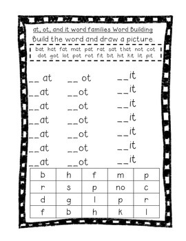 Word Their Way Letter Name Alphabetic Sorts 27-33 Bundle