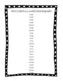 Word Their Way Letter Name Alphabetic Sorts 41-50 Bundle
