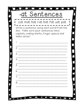 Word Their Way Letter Name Alphabetic Sorts 6-12 bundle