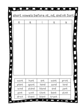 Word Their Way Letter Name Alphabetic sort 47
