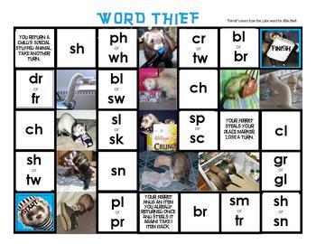 Word Thief - Beginning Consonant Blends