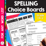 Word Tic Tac Toe Homework *EDITABLE (UPDATED)