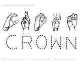 Word Time: Crown
