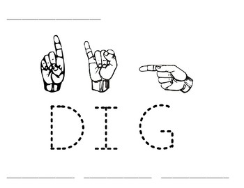 Word Time: Dig