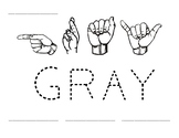 Word Time: Gray