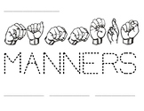 Word Time: Manners