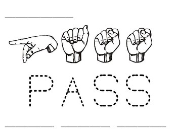 Word Time: Pass