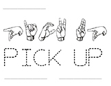 Word Time: Pick Up