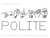 Word Time: Polite