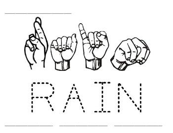Word Time: Rain