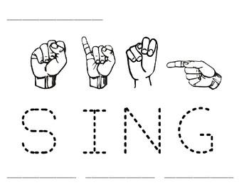 Word Time: Sing