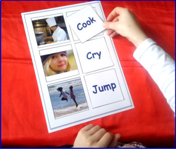 Word to Picture Matching Activities BUNDLE for Special Ed