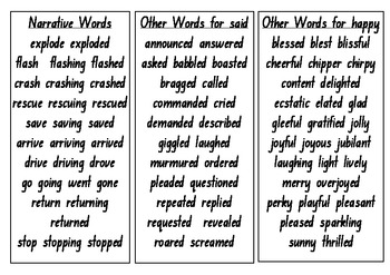 Word Tower - Narrative