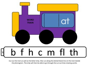 Word Family Train (ERI Based)