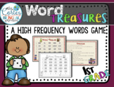 Word Treasures- High Frequency Words Game for first grade