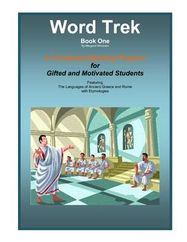 Word Trek Book One: Vocabulary/Spelling (Greek/Latin Base Words) Full Year Study