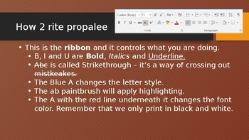 Word Tutorial PowerPoint