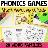 Short Vowel Word Mats