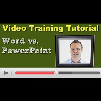 Word Vs. PowerPoint for Product Creation - Video Tutorial