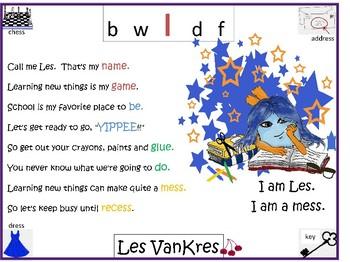 Word Waglz Tandem Readers Book two B W L D F